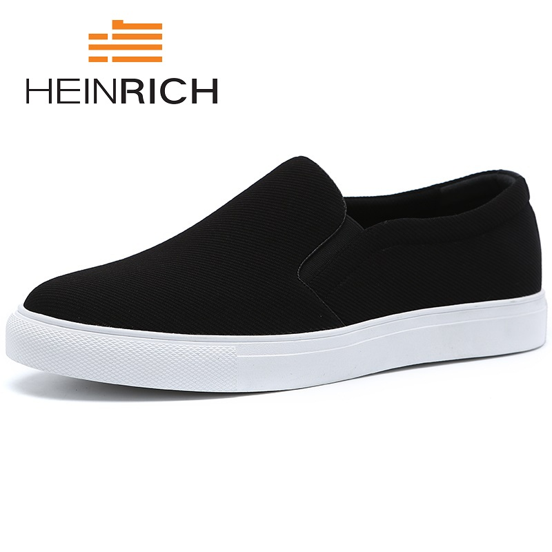 Homme Liste Automne Sapato Léger Printemps Nouvelle Appartements La Casual Respirant Heinrich De 2018 Chaussures Branco Hommes Noir BCxeQroEdW