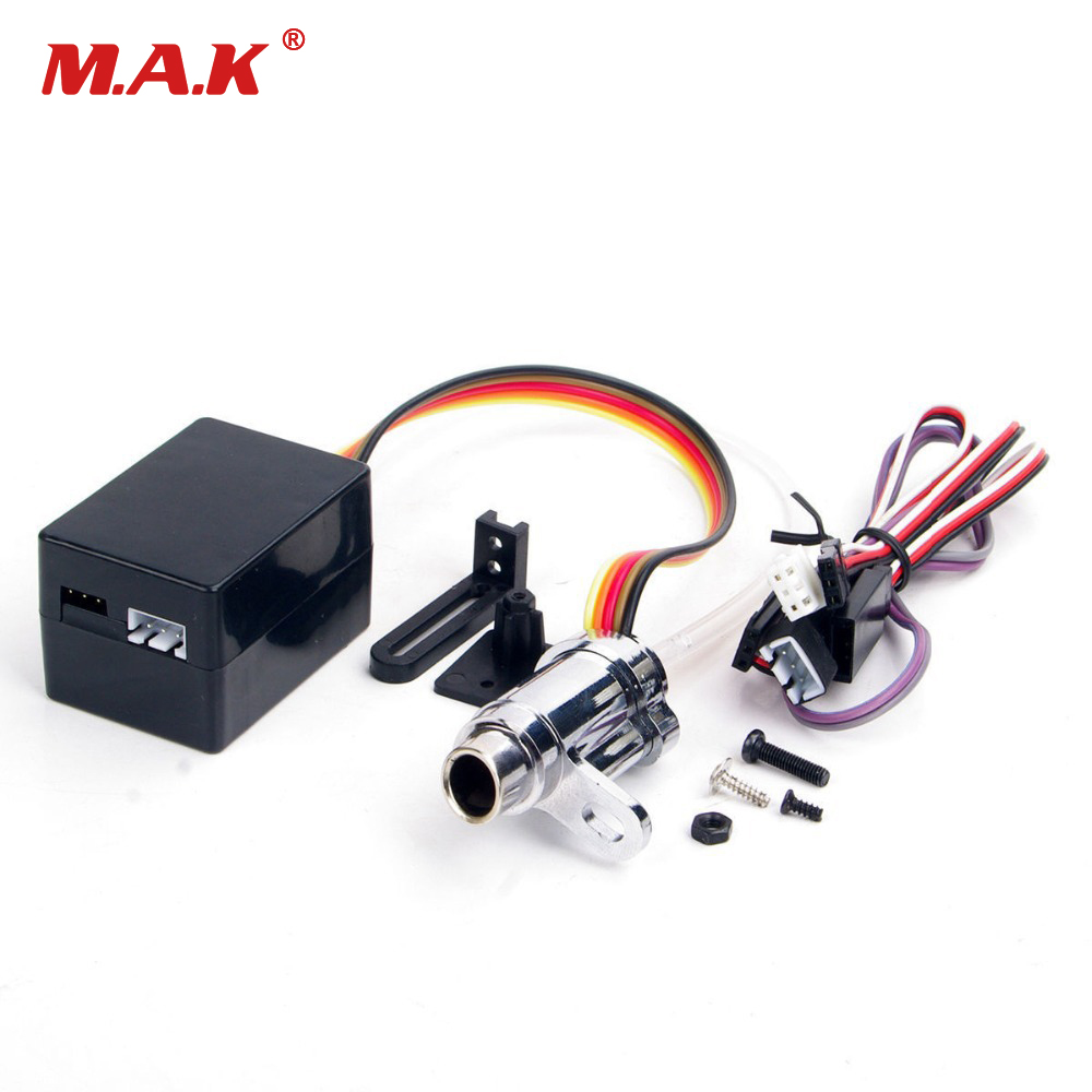 1/10 Simulation Smoke Exhaust Pipe Tubing Parts RC Car Parts Upgrade Electronic RC 1:10 Model Car Accessories