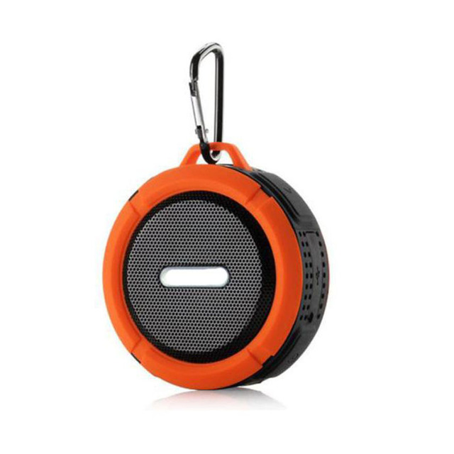 Puscard Portable 5W Waterproof Handsfree Wireless Bluetooth Speaker With Ultra Bass HiFi Stereo For Smartphone Tablet PC Laptop