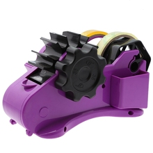 Dispensador de cinta semiautomático con cortador de cinta de longitud fija de 35Mm, herramientas domésticas para embalaje de oficina y escritorio