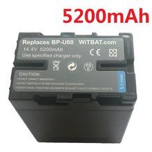 Batterie Li-Ion pour Sony BP-U65 BP-U60 BP-U90 BP-U95, appareil photo BP-U30 V PMW-EX1 mAh, pour EX1R EX3 EX3R PMW-F3 F3K PMW-100 200