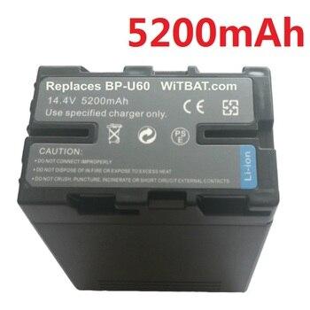 BP-U65 BP-U60 BP-U90 BP-U95 BP-U30 batería para Sony PMW-EX1 EX1R EX3 EX3R PMW-F3 F3K PMW-100 200 Cámara 14,4 V Li-Ion 5200mAh nuevo