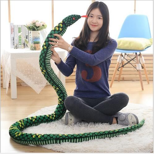 Snake Realistic Manmade Soft Rubber