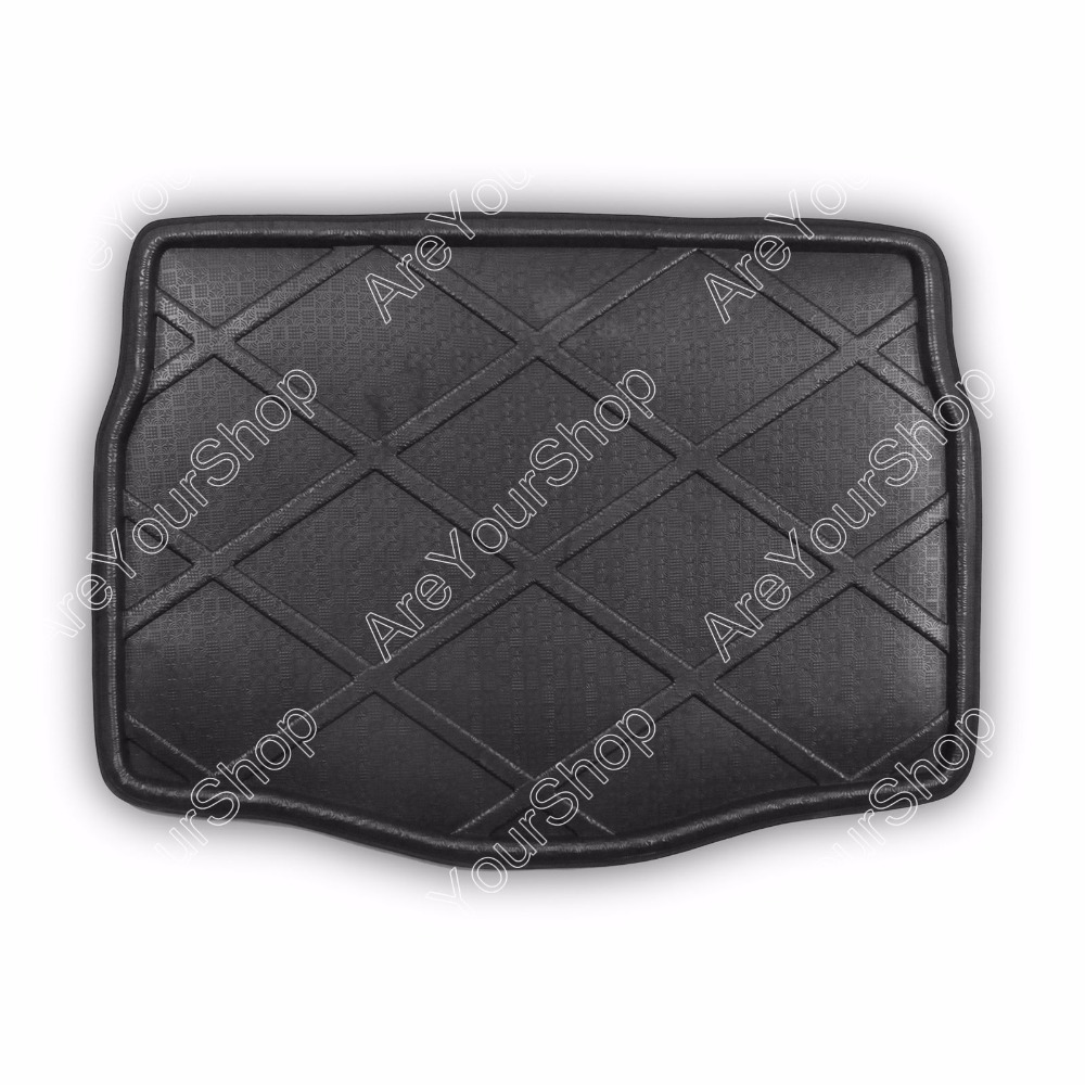 Car Auto Cargo Mat Boot liner Tray Rear Trunk Sticker Dog Pet Cover For Peugeot 2008 2014 High Quality Car-covers Stickers car rear trunk security shield cargo cover for dodge journey 5 seat 7 seat 2013 2014 2015 2016 2017 high qualit auto accessories