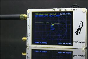 Image 4 - 2.8 inch LCD NanoVNA VNA HF VHF UHF UV Vector Network Analyzer Antenna Analyzer + PC Software + Battery