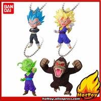 100% Original BANDAI Gashapon Figura UDM V SELECCIÓN SALTO 02-conjunto de 4 UNIDS Goku Piccolo Vegeta Vegetto de