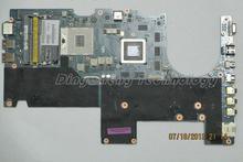 HOLYTIME laptop Motherboard for dell Alienware M14X R1 0XYCJJ CN-0XYCJJ LA-6801P HM67 DDR3 non-integrated graphics card