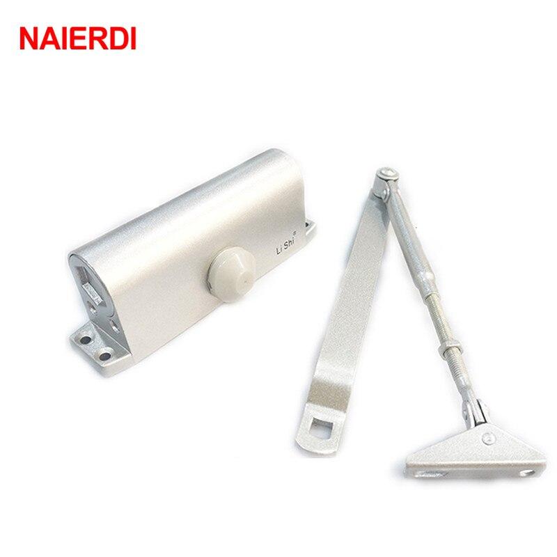 NAIERDI Household Type Adjustable Door Stop Fire Channel Buffer Type Automatic Door Closers Bearing 45-65KG fire granny 2018 11 20t20 00
