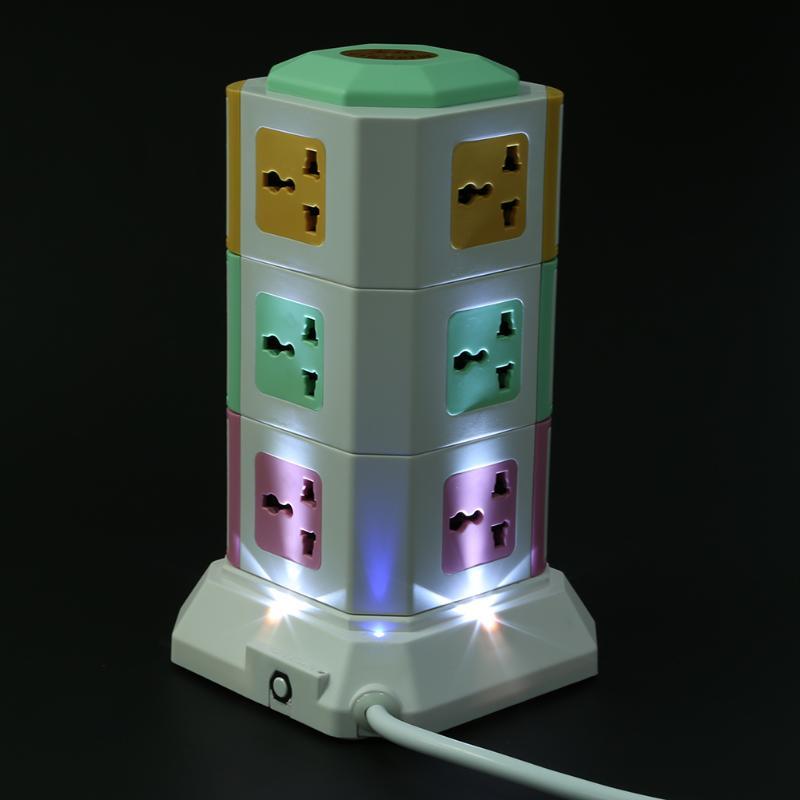 3 Schicht Universal Intelligente Elektrische Stecker Vertikale ...