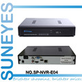 SunEyes P2P 4ch/8ch NVR Сетевой HD Видеорегистратор 720 P/1080 P ONVIF 1080 P Выход HDMI 1U SP-NVR-E04/SP-NVR-E08
