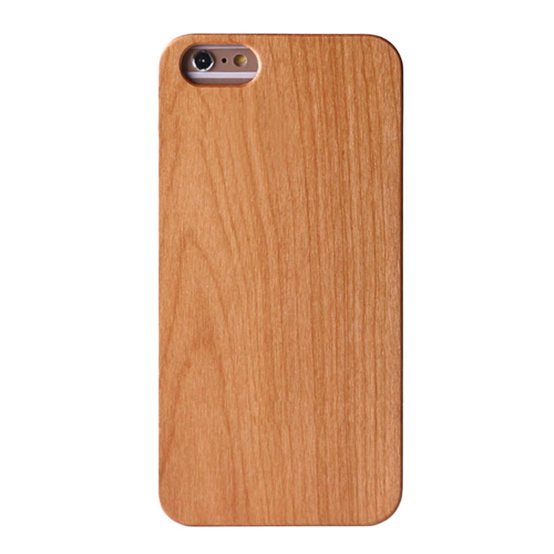 d73720f9749bd ... Etmakit деревянная крышка для iPhone 7 Plus чехол из натурального  бамбука Деревянные телефонные чехлы iPhone 6