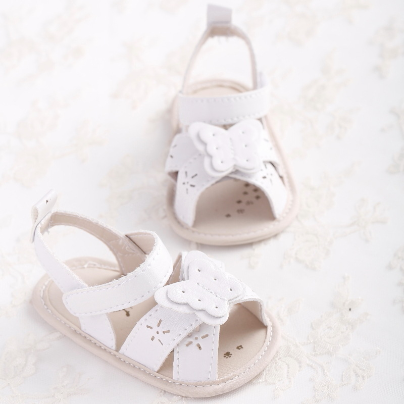 Hollow Out Butterfly Summer Infant Toddler Sadals Babygirl Shoes First Walkers Lovely 0-18month Learning Walking First Step Ange