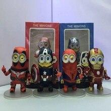 4 стиля Мстители версии паук Дэдпул капитан americ фигурки Игрушечные лошадки модель Куклы Лидер продаж