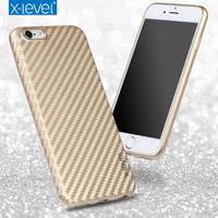 X Level High Quality Colorfiber TPU Phone Case For Apple Iphone 6 6s 4 7 6