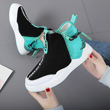 Moxxy 2018 Autumn Martin Boots Platform Winter Flats Shoes Woman Zip Gingham Air Mesh Women Shoes Sneakers Casual Bota Feminina