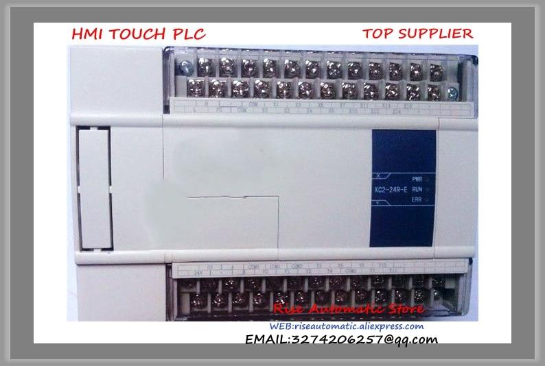 New Original 14point NPN input 10point transistor output XC2-24T-C PLC DC24V 3COM& brand new original plc digital input 36 transistor output 24 system main unit 1 com fbs 60mct2 ac 24vdc