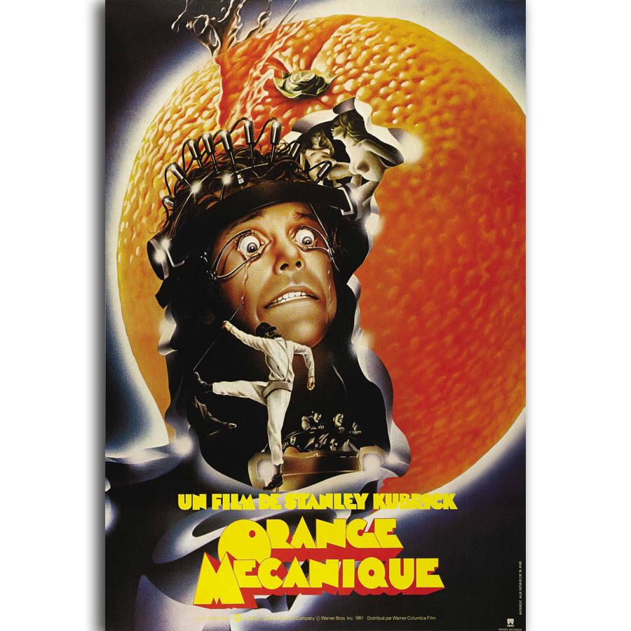 A Clockwork Orange Movie Art Silk Poster 12x18 24x36