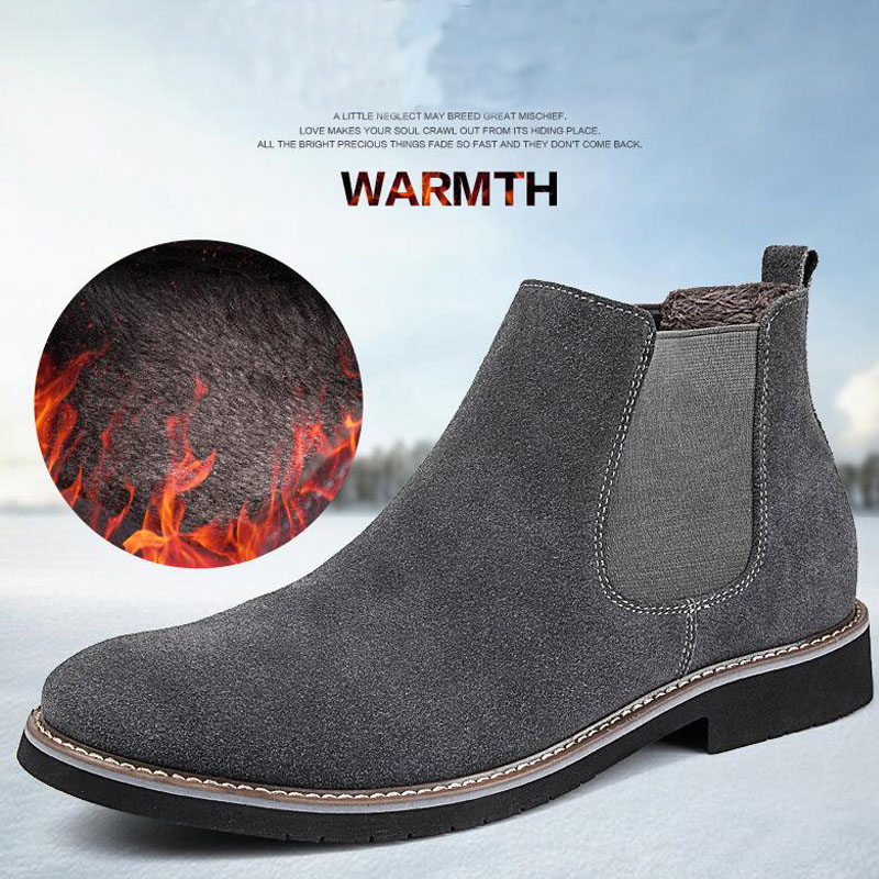 5f1a1cb516008 YIGER NEW Men Chelsea Boots Ankle Boots Fashion Men's Male Brand ...
