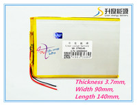 Large Capacity 3 7 V Tablet Battery 6000 Mah Each Brand Tablet Universal Rechargeable Lithium Batteries