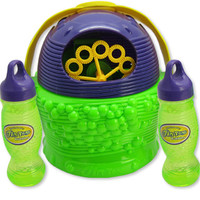 New Design Basket Type Electronic Automatic Bubble Machine,Plastic Bubble Blower Soap Bubbles Baby Toy