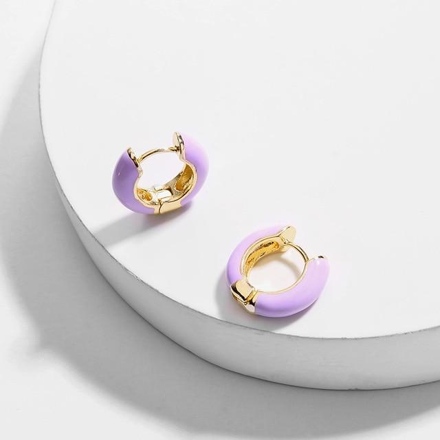 1 pair Purple