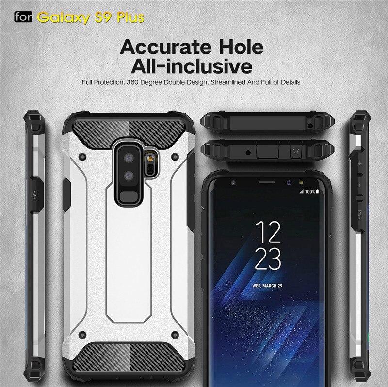 For Strong Hybrid Tough Armor Phone Case Samsung Galaxy S6 S7 edge S8 S9 plus Rugged Cover J4 J6 J8 A6 A7 A8 2018 Coque