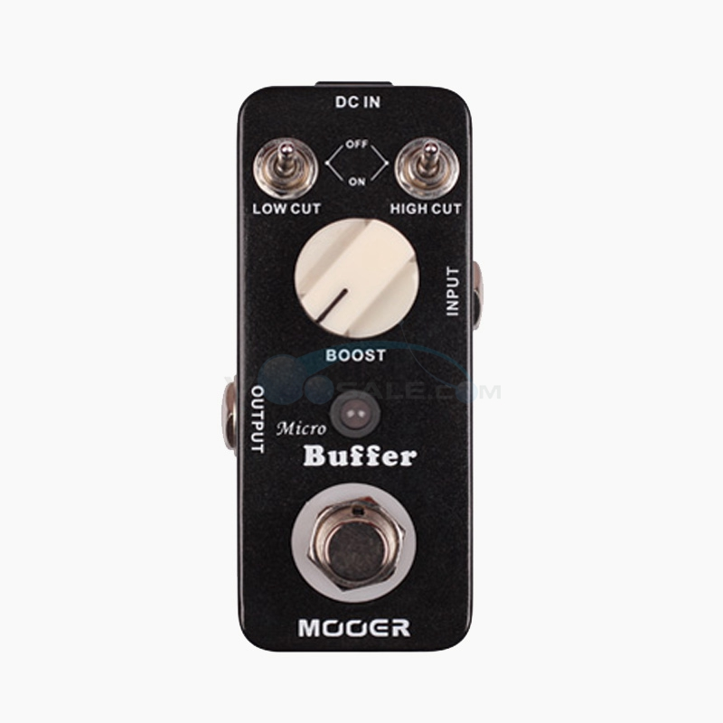 Mooer Buffer Durable Guiatr Effect Pedal Frequency Reduce Signal Attenuation True Bypass Full Metal Shell mooer ensemble queen bass chorus effect pedal mini guitar effects true bypass with free connector and footswitch topper