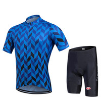 Blue Color Specialized Cycling Jersey For Men 2017 New Team Cycling Jersey Bike Race Wear Short