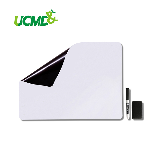 Magnetic Whiteboard For Kitchen Fridge 19 X 13 Inch Message Board Shopping  List To Do