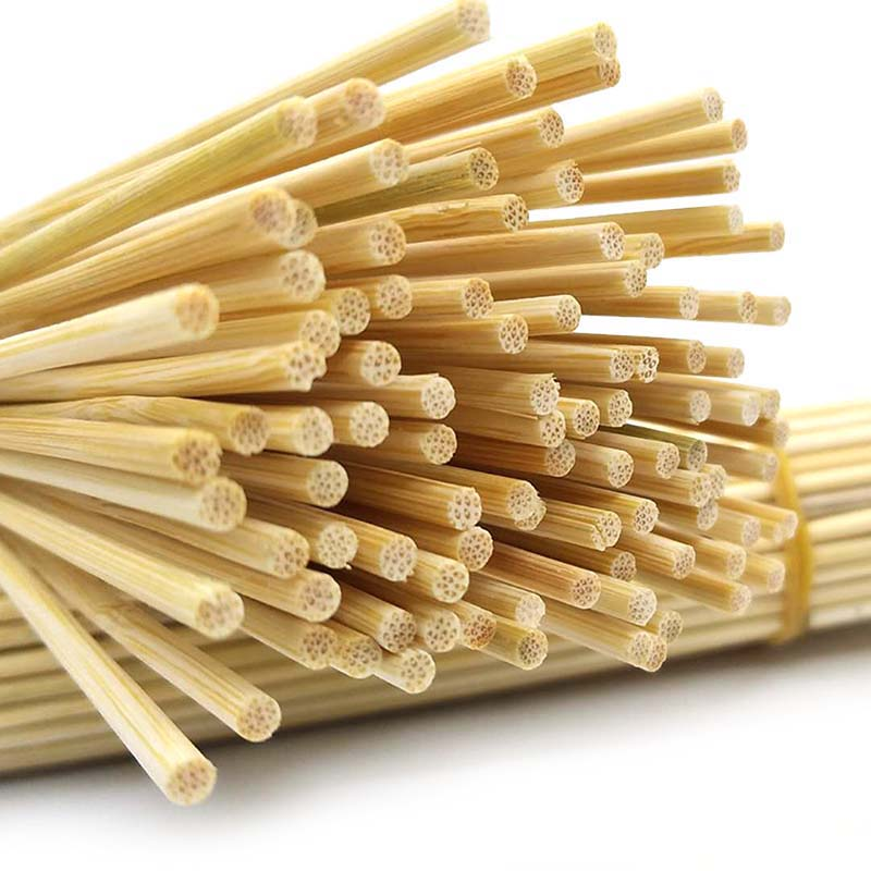Cooking Wooden Shish BBQ Sticks Barbecue Tools Fruit Sticks Bamboo Skewers