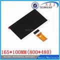 """Nueva 7 """"pulgadas de pantalla LCD 7300101465 7300100070 7300100068 7300101357 7610029909 165*100 MM para tablet pc de pantalla libre gratis"""