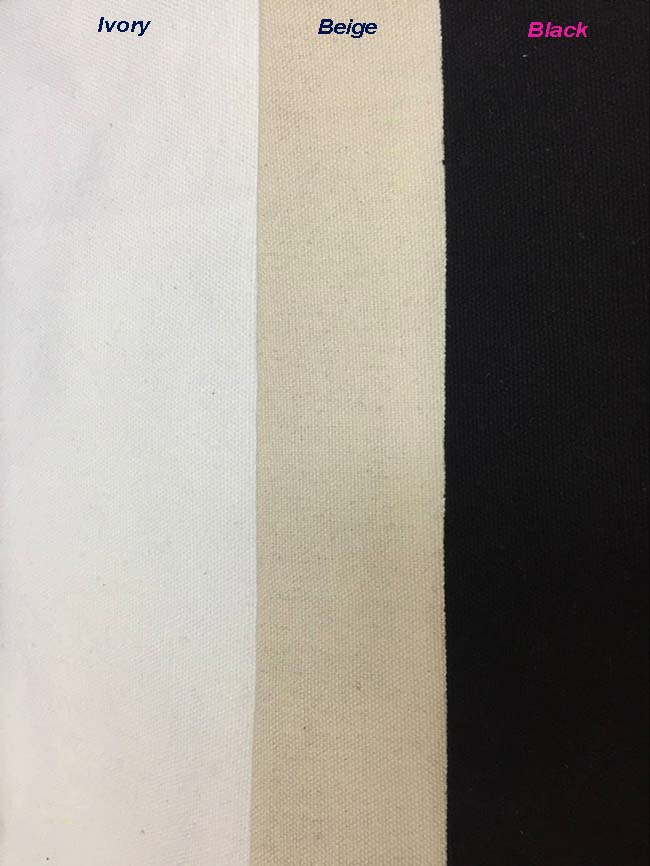 Black 100 Pcs/Lot Customised Logo Canvas Shopper Bag Custom Washable Plain Tote Bag Natural Canvas Shopping Bag