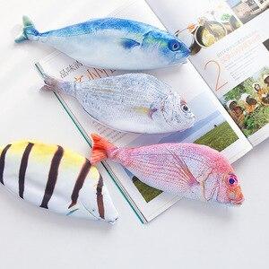 Футляр для карандашей, в Корейском стиле, в виде рыбы