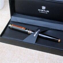 Tutto il Metallo Penna Stilografica di lusso di alta qualità inchiostro della penna per ufficio e la scuola di scrittura di cancelleria forniture