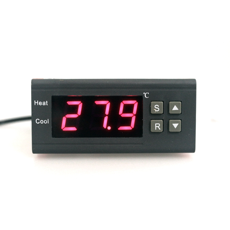 220V 10A Egg Thermostat Incubator Farming 0.1 deg C high Accuracy Thermostat Regulator Temperature Controller with Buzzer Alarm suhed high versatility with dual alarm thermostat ch702