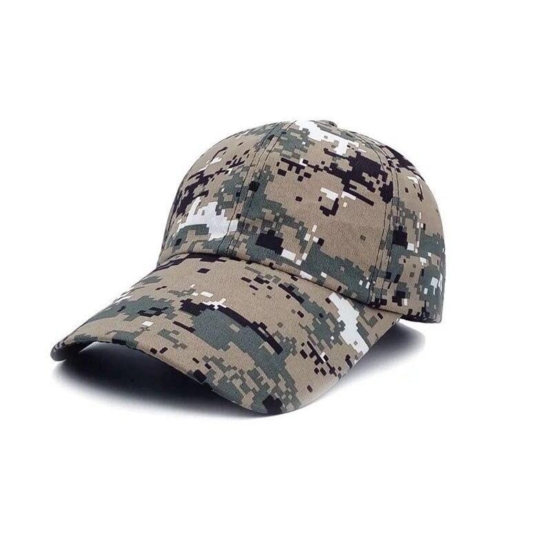 Охотничьи шапки Шапки для уличных видов спорта армейские мужские женские шапки специальные камуфляжные шапки бейсбольныей козырек шапки Распродажа - Цвет: Camo 5