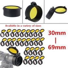 Прозрачная желтая крышка объектива 30 69 мм быстросъемный защитный