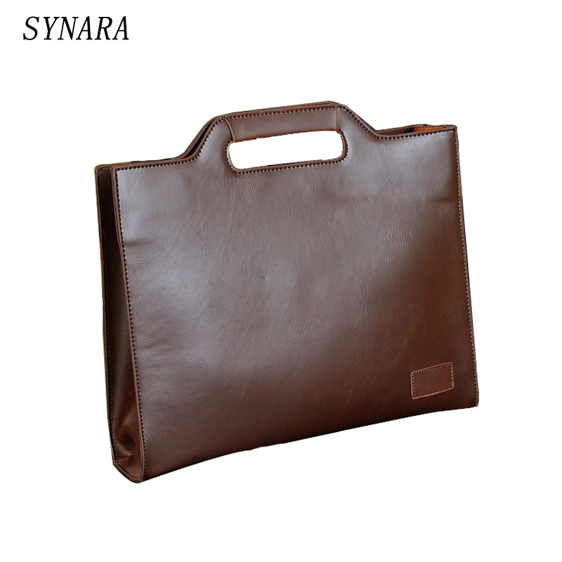 quality crazy horse PU leather Briefcase Bags Men & man Handbag Brand Men Shoulder Bag Business Male Messenger Bag vintage genuine leather men briefcase bag business men s laptop notebook high quality crazy horse leather handbag shoulder bags