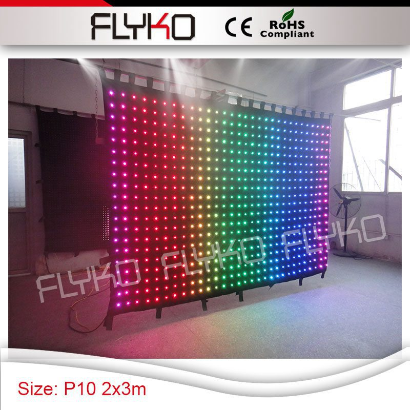 US $834 0 |colorful Soft LED Video LED Curtain concert stage backdrop  PH10-in Stage Lighting Effect from Lights & Lighting on Aliexpress com |  Alibaba