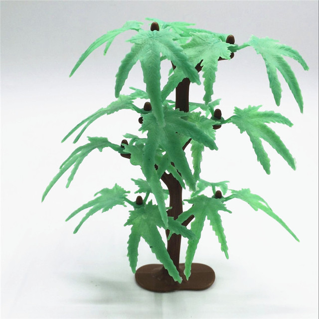 2017 Limited Hot Sale Decoration Artificial Plants Plastic Tree Flowers For  Decoration Fake Plant Vase Office