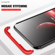 360 Protector Case For Huawei P30 Case Hard PC Cover For Honor 10i 20i 20 Lite Case For Huawei P20 Lite Mate 20 Pro P Smart 2019(China)