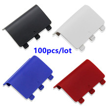 цена на Battery Cover Lid Shell Replacement ABS Battery Cover Door Back Covers for XBOX One Wireless Controller Xboxone Gamepad 100pcs