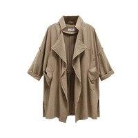 ZANZEA Women Basic Jacket Coat 2017 Autumn Winter Casual Outwear Coats Turn Down Collar Long Sleeve