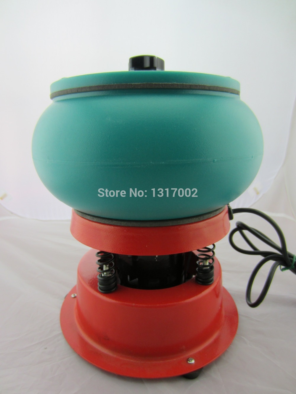 Vibrating Tumbler, Tumbling Polishing machine, Jewelery gold silver gemstone Polisher, Color randomization black or mint green mint green casual sleeveless hooded top