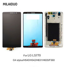 LCD Display For LG G4 Stylus H540 H542 LS770 H631 H635 F560 Touch Screen Digitizer Black No/with Frame Assembly Replacement
