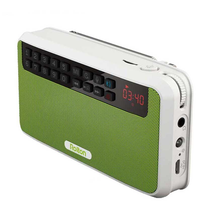 Rolton E500 HiFi стерео динамик портативный Bluetooth серийный бас Колонка MP3 музыкальный плеер для компьютера с TF картой радио