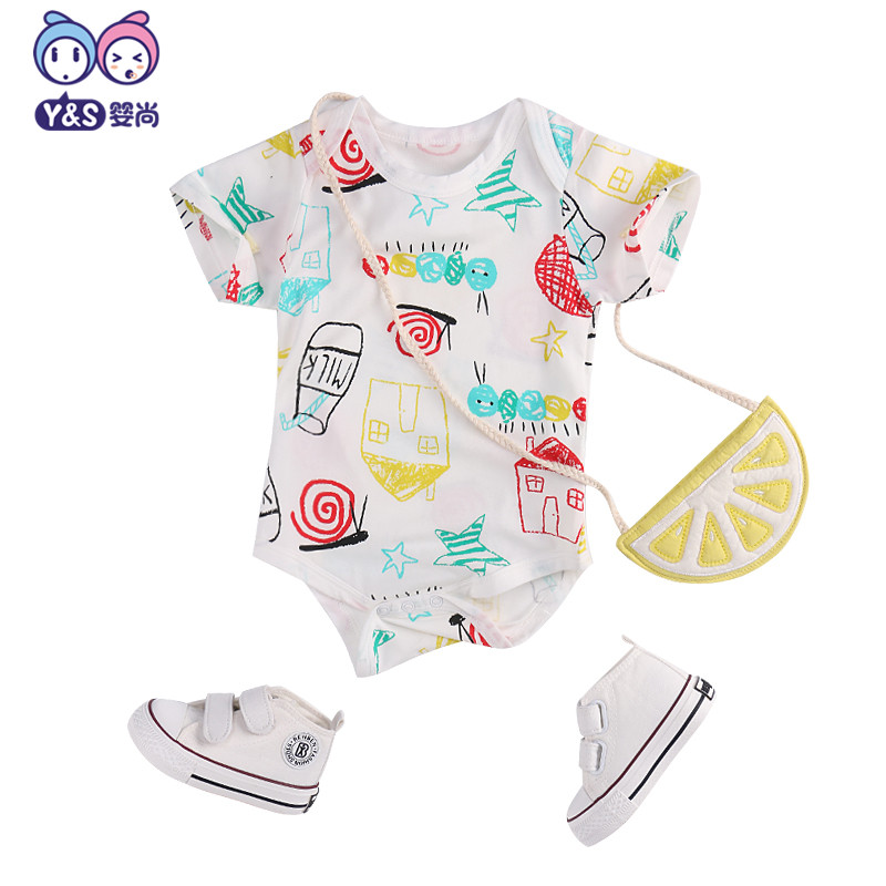2018 new wisbibi baby rompers cotton long sleeve cartoon print clothes kids rompers cheap sale kids rompers infant jumpsuits