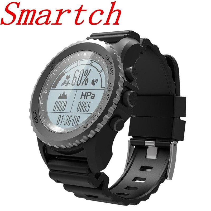 Smartch S968 Sports Smart Watch Men IP68 Waterproof Wearable Devices Sleep / Heart Rate Monitor Bluetooth Smartwatch