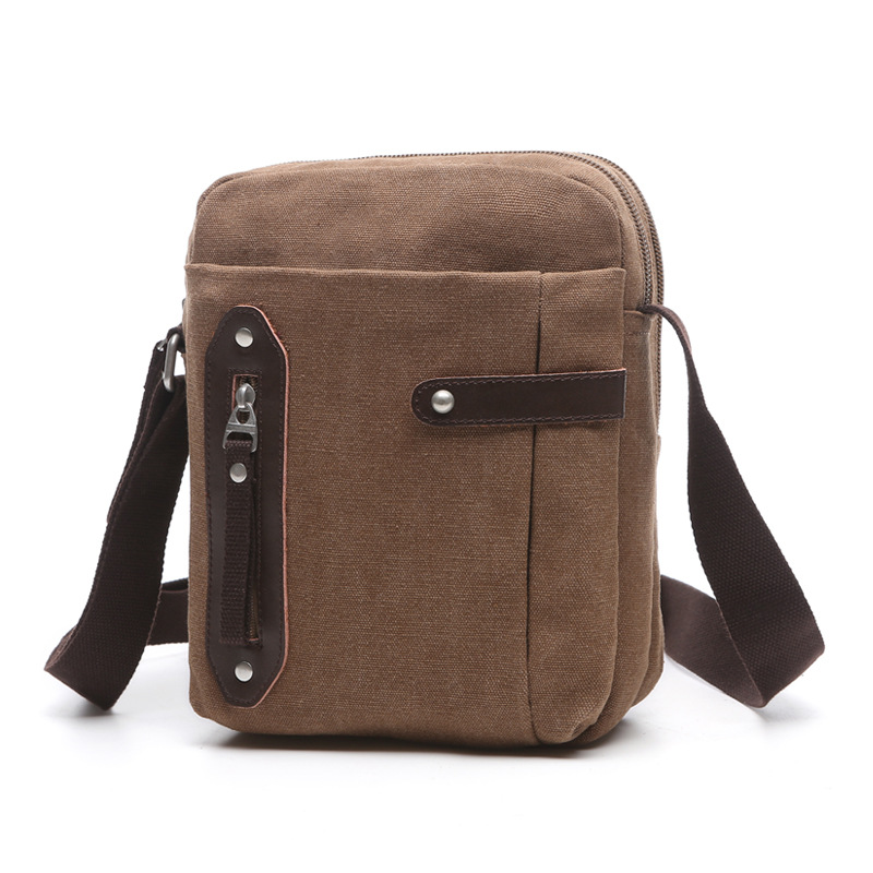 2017 Retro Men Shoulder Crossbody Bag High Quality Canvas Ipad Bags Multi-pockets Casual Travel Bags Military Men Messenger Bags 2017 canvas leather crossbody bag men military army vintage messenger bags large shoulder bag casual travel bags