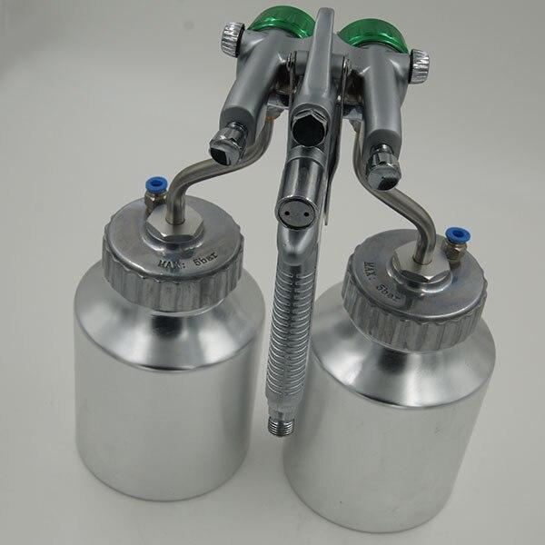 SAT1200 topeltdüüsiga pihustuspüstol matt-matt-autovärvi - Elektrilised tööriistad - Foto 1